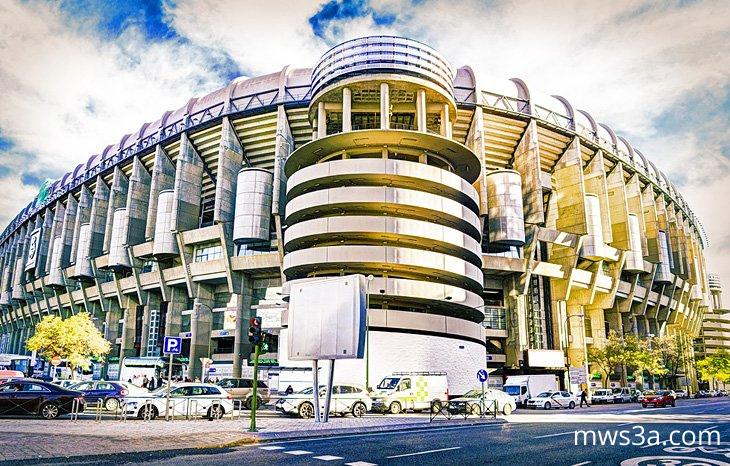 ستاد ريال مدريد