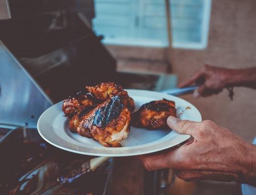 صدور الدجاج